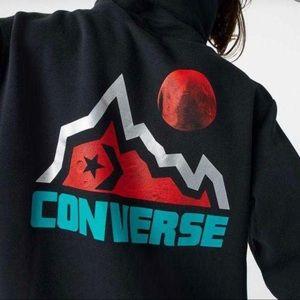 Converse Mountain In Black Men's Hoodie Sweatshirt